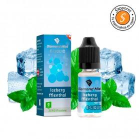 Iceberg Menthol 10ml 0mg - Diamond Mist refresca tu mente con este menthol intenso.