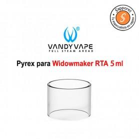 Cristal de repuesto para widowmaker rta de 5ml de capacidad de líquido para vapear de vandy vape