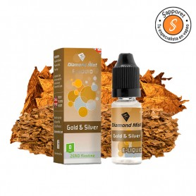 Gold & Silver 10ml - Diamond Mist tabaco y solo tabaco.