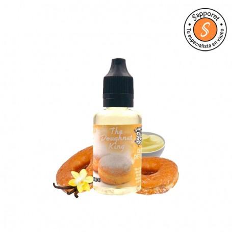 disfruta del mejor donut relleno con crema de vainilla con este aroma para cigarrillo electrónico