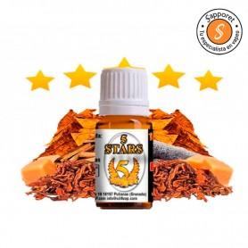 Tabaco Rubio 5 Stars Aroma 10ml - Oil4Vap con notas de caramelo y regaliz negro para disfrutar.