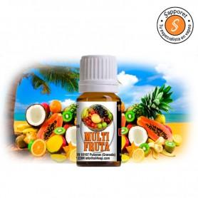 OIL4VAP - Aroma Multifruta 10ml, increíbles frutal tropicales para degustar sin parar en este aroma.