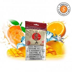 Yakuza (Pack de sales) - Oil4Vap, combinación de las frutas de mango, mandarina y naranja para dar un toque mágico al vapear.