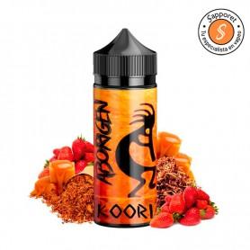 delicioso sabor tabaquil con caramelo y fresas para que disfrutes en tu cigarrillo electrónico gracias a shaman juice