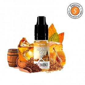 HIDALGO - NIC SALT - BOMBO NIC SALTS selecto tabaco con toques a miel.