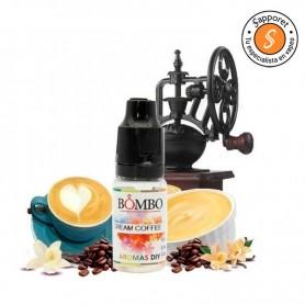 AROMA CREAM COFFEE 10ML - BOMBO, un café con vainilla para vapear.
