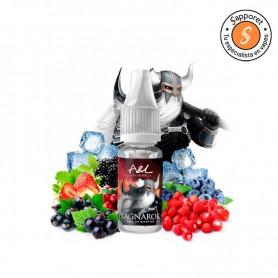 disfruta de tu aroma de alquimia frutal favorito en formato sales de nicotina. A&L presenta Ragnarok en sales de nicotina
