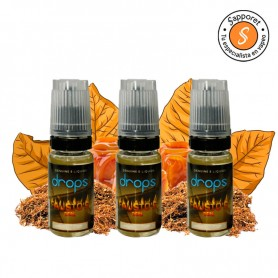 Fausto's Deal 3x10ml - 12mg - Drops pack de sabor tabaquil con caramelo.