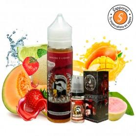 Caesar 60ml 3mg - Drops, disfruta vapeando con este líquido frutal de mango, fresa, lima y guava.