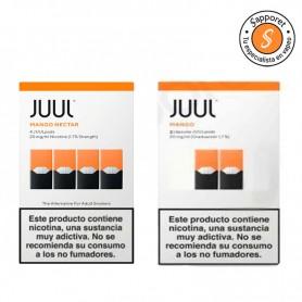 JUULPOD MANGO 20MG/ML - JUUL LABS y de dos tipos diferentes.