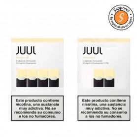 JUULPOD VAINILLA 20MG/ML - JUUL LABS cartuchos con sabor a vainilla.