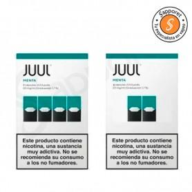 JUULPOD Menta 20mg/ml - JUUL Labs, un cartucho con sabor a menta.