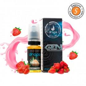 Ultimate Strawberry 10ml - 3mg - Drops, líquido para vapear de las mejores fresas del mercado.