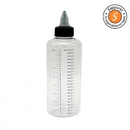 BOTE UNICORNIO GRADUADO - 230ML, precisión para el rellenado de líquidos.