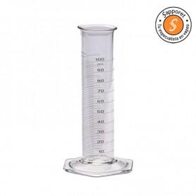 Probeta graduada de 250ml probeta con buen tamaño para mezclar tus líquidos.