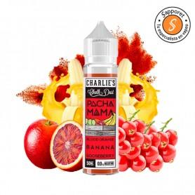 BLOOD ORANGE BANANA GOOSEBERRY 50ML - PACHAMAMA, delicioso líquido para vapeo de frutas.