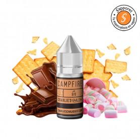 Campfire 30ml (Aroma) - Charlies Chalk Dust, delicioso aroma de malvavisco, chocolate y galleta para vapeo.