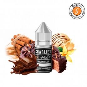 Dream Cream 30ml (Aroma) - Charlies Chalk Dust, delicioso pastel con chocolate, vainilla y canela para vapeo.