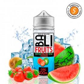 SANDÍA KIWI FRESA ICE 100ML - BALI FRUITS X KINGS CREST, combinación frutal para disfrutar del vapeo a diario.