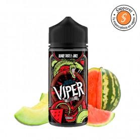 deliciosa fusión de melon y sandía en este líquido para vapear de viper fruity