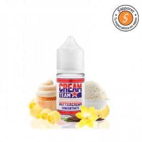 Aroma CreamTeam Buttercream - Kings Crest, delicioso cupcake con toque de mantequilla para vapear.