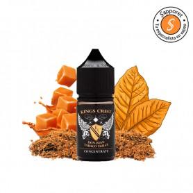 Kings Crest - Aroma Concentrado Don Juan Tabaco Dulce 30ml, para tu alquimia el mejor tabaco dulce del mercado.