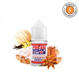 Kings Crest - Aroma Cream Team Cinnaroll 30ml. Aroma vapeo de vainilla con canela, un bizcocho delicioso.