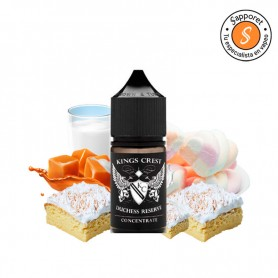 Kings Crest - Aroma Duchess Reserve 30ml, delicioso aroma para alquimia de leche, caramelo y nubes.