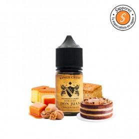 Kings Crest - Aroma Don Juan 30ml, siente el mejor sabor con este aroma para alquimia de pastel de nuez.