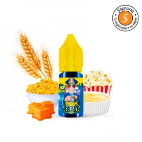 Riggs 10ml - Cop Juice ESalt, deliciosas sales de nicotina para vapear de cereales con palomitas y natillas.