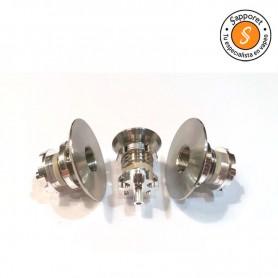 CONECTOR 510 RESET V2 22 X 1.5MM - RESET MODS, cabezal con rosca en metal para una mayor calidad de vida.