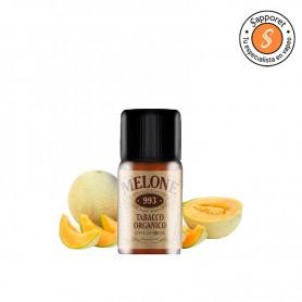 melon cantalupo mezclado con tabaco, ideal para tu vapeo diario.