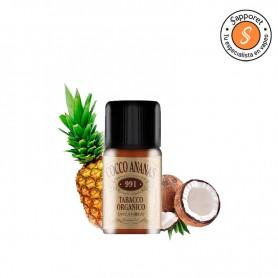 cocco ananas de dreamods es un aroma orgánico perfecto para tu vapeo diario.