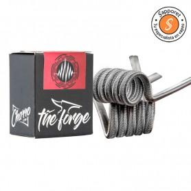 Rampage Dual coil de la gama The forge de Charro Coils. Ideales para cualquier atomizador dual hechas para el mejor sabor.