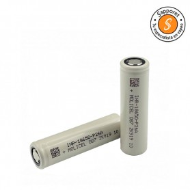 batería 18650 molicel para cigarrillo electrónico con una autonomía de 2600 maH de descarga y 35A