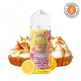 lemon cake de havana dream es un líquido de tarta de limón ideal para disfrutar en cigarrillo electrónico.