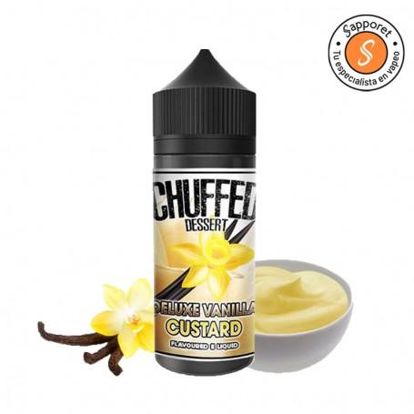 deluxe vainilla custard de chuffed eliquid es la mejor vainilla que jamás hayas probado en tu cigarrillo electrónico.