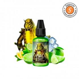 Oni Sweet Edition Aroma es el clásico lima limón con efecto frío pero más dulce gracias a la nueva gama de A&L Ultimate