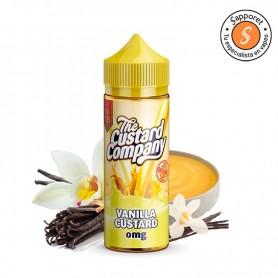 El mejor líquido de vainilla custard es de The Custard Company, disfrutalo en tu vapeo diario.