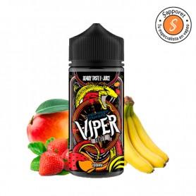 Mango banana strawberry es la combinación frutal perfecta para disfrutar en tu cigarrillo electrónico gracias a Viper Fruity