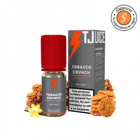 tobacco crunch es el líquido de sales perfecto tabaquil para disfrutar en tu vapeo diario.