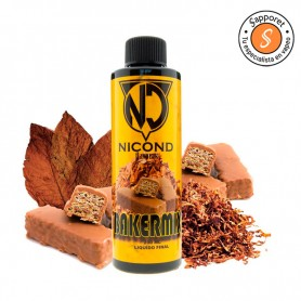 bakermix es un tabaquil clásico para alquimia de cigarrillo electrónico. Disfrutalo en tu vapeo diario.