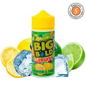 lemon lime de big bold fruity ideal para disfrutar en tu vapeo diario.