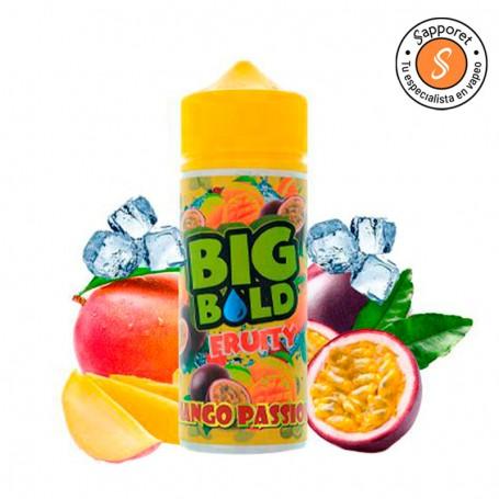 Big Bold presenta Mango Passion un delicioso líquido frutal tropical con mango y fruta de la pasión ideal para tu vapeo diario.