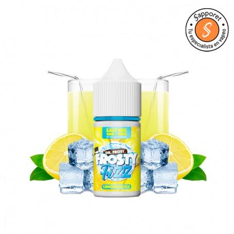 lemonade ice de dr frost presenta la mejor limonada de limón perfecta para disfrutar en tu cigarrillo electrónico tipo pod.