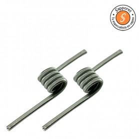 resistencia artesanal de victory coils, perfecta para tus atomizadores single coil