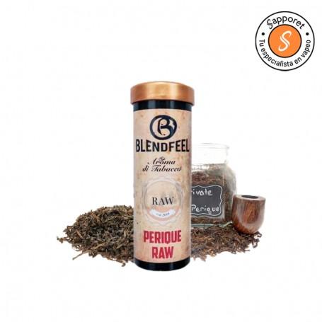 Blendfeel presenta perique raw un clásico sabor tabaquil, con el mejor sabor para tu vapeo diario.