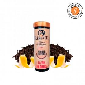 fantástico latakia doble con cafe negro y ralladura de limón para disfrutar en tu cigarrillo electrónico.