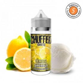 lemon sherbet de chuffed sweets es un delicioso líquido para vapear con sabores cítricos para tu vapeo diario.