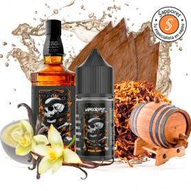 mamba skull es un fantastico tabaquil aderezado en barricas de bourbon para disfrutar en tu vapeo diario.
